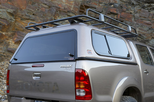 Double Cab grained - standard roof canopy for Toyota Hilux 2005 on : arb canopy hilux - memphite.com